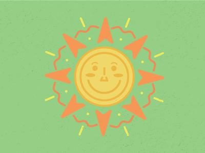 Fun in the Sun sunday suns inspiration tad carpenter fun texture color illustrator illustrate sun