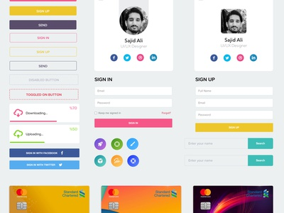 FREE UI KIT for Mobile / Web free ui kit mobile  web web mobile kit ui
