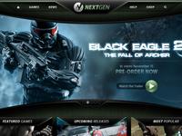 NextGen Games Website
