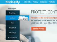 Backupify Website