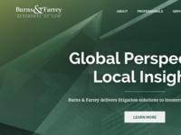 Burns & Farrey Website