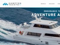 Hampton Yachts Websites