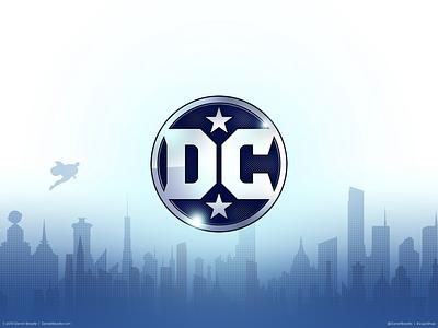 DC Comics Logo dc comics comic book branding brand logo