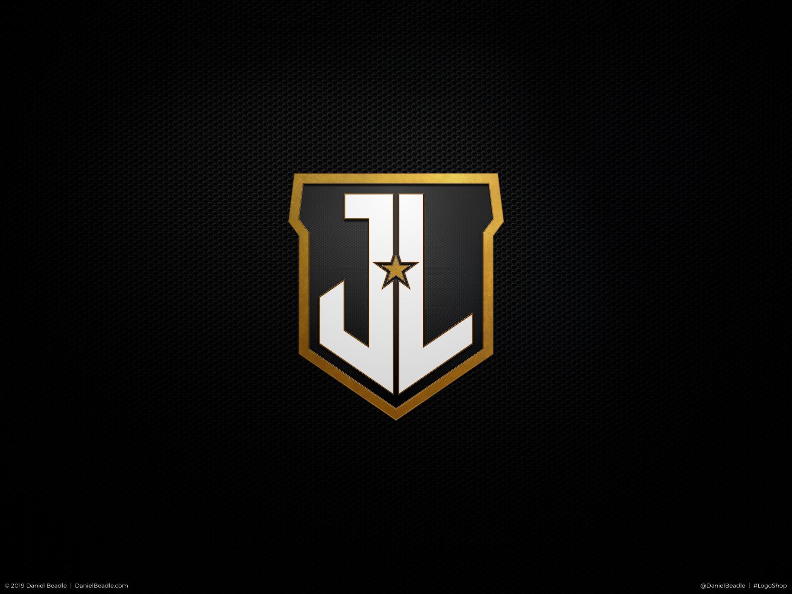 Justice League Logo by Daniel Beadle on Dribbble Justice League Emblem Images