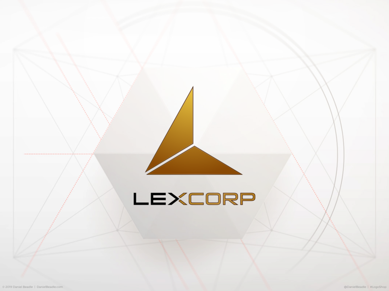 LexCorp Logo superman lex luthor lexcorp comic book branding brand logo