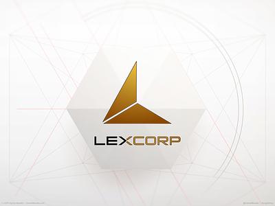 LexCorp Logo superman lex luthor lexcorp comic book branding brand logo