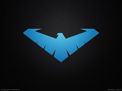 Nightwing Logo robin nightwing batman comic book branding brand logo
