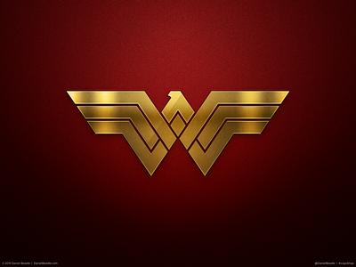 Wonder Woman Logo wonderwoman comic book branding brand logo