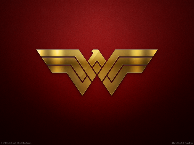 Wonder Woman Logo wonderwoman comic book branding brand logo