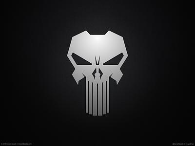 The Punisher Logo punisher comic book branding brand logo