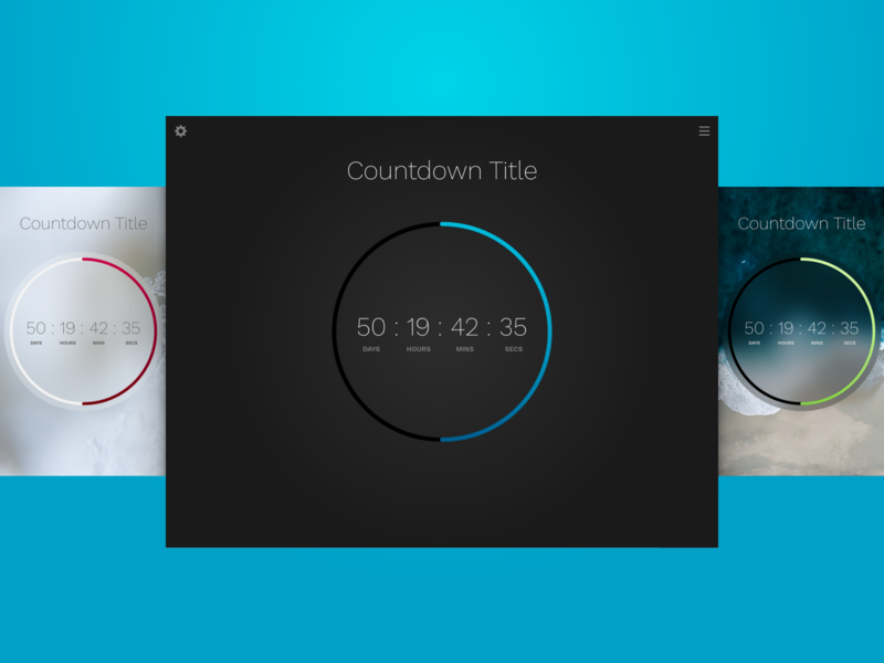 Countdown Clock Theme for Sketch clock sketch theme timer countdown