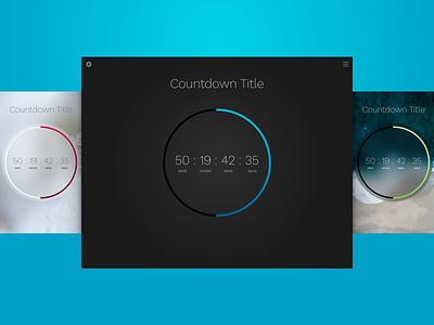 Countdown Clock Theme for Sketch clock sketch theme timer countdown