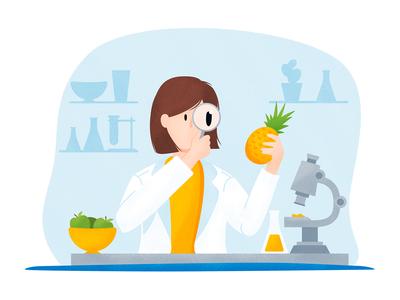 Nutritionist Illustration 1/2