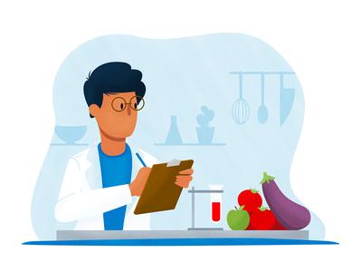 Nutritionist Illustration 2/2