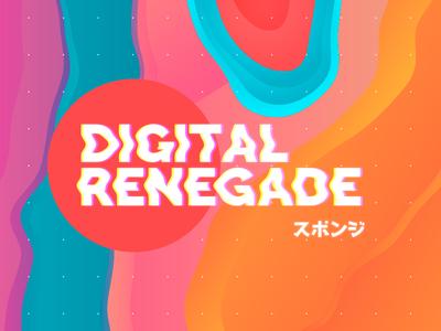 Digital Renegade sponge japan digital pattern palette colors