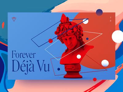Forever Deja Vu cinema 4d monument deja vu tdwp statue