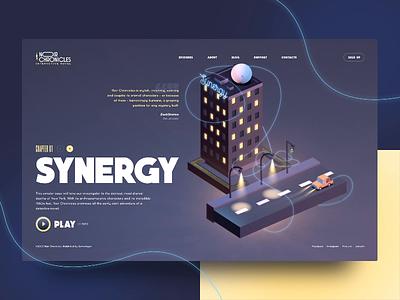 Noir Chronicles: Synergy cielo promo synergy animation lightning modeling motion 3d cinema 4d