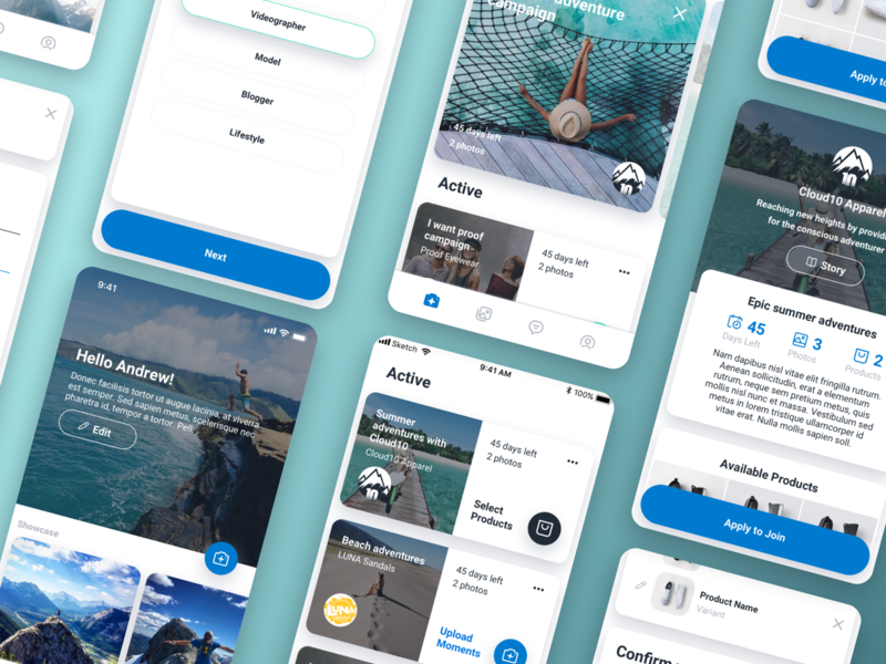 Trendly Mobile Design UI mobile profile page mobile card ui card ui mobile app mobile app development mobile app design ios design mobile ui kit mobile user experience mobile user interface mobile ui design mobile ux mobile ui mobile design