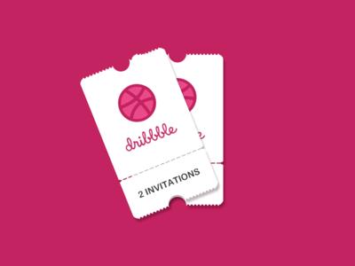 Dribbblr Invitations *2
