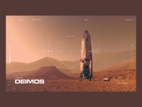 Martian Moon Deimos