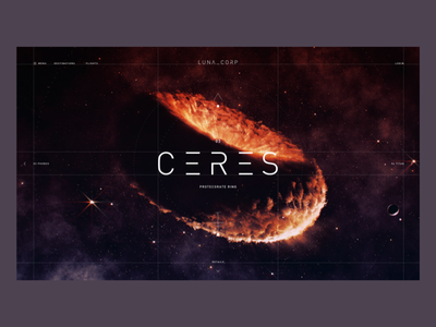 Protectorate Ring CERES xd planet space design interface ui ux