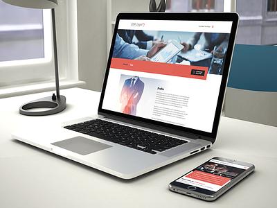 DSK Legal - Website Redesign responsive resdesign wordpress web
