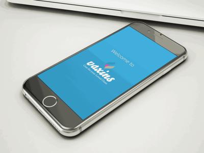 Vaxins Mobile App web development web design mobile app