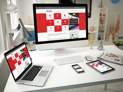 Khushi Advertising wordpress cms responsive design web design