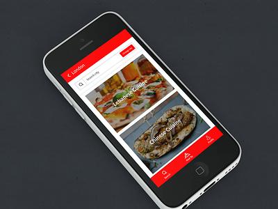 NOSHR App - Street food in the UK user-friendly mobile app