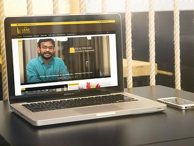 The Lead Speakers bespoke website design responsive design design web development web design