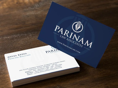 Parinam Law Associates - Logo Design branding logodesign brand design logo