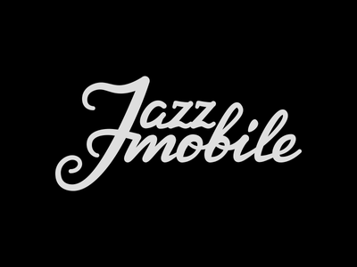 Lettering WIP for jazz band logo music wip jazz logo lettering