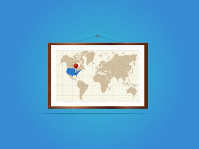 Map icon for website earth pin map set site web icon