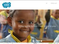 Homescreen for Melkam Timirt Website