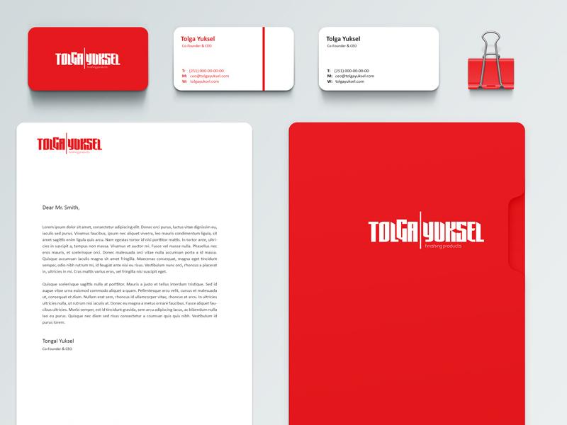Tolga Branding Identity Mockup Proposal branding graphic design mockup