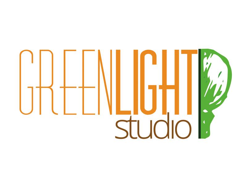Green Light Studio logo graphic design branding