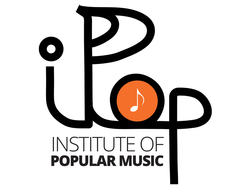 Logo For Music School IPOP logo graphic design branding
