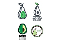 Avocado Dresses Logo Rebranding Work