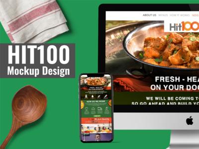HIT100 Mockup Design