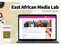 East Africa Media Lab CMS Website