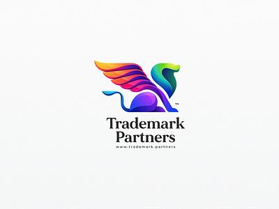 Lion trademark logodesigner logodesign design illustration colorful bird icon designs modern branding logo brand