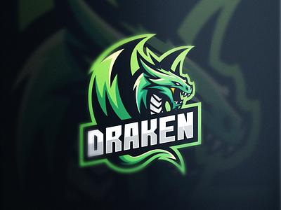 Dragon Esports dragons dragon dota2 csgo sports esports games branding brand designs logo
