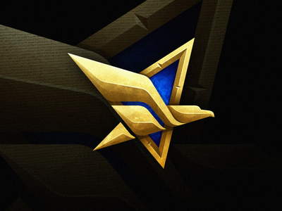 Eagle vector illustration sports bird masculine mark games esports modern logo branding brand