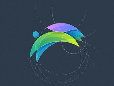 Bunny rabbit bunny design vector illustration colorful fun grid colorfull mark games icon designs modern branding logo brand