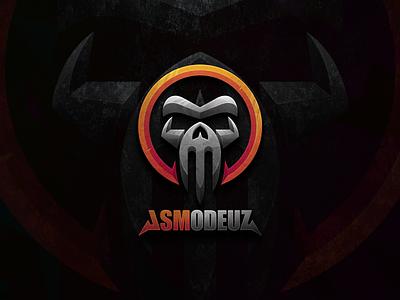 Demon Skull Head strong bold gaming devil demon skull illustration sports masculine esports icon games designs modern logo branding brand