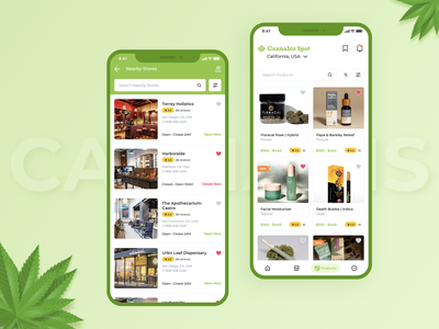 Online Cannabis Store search listing list ui home page list view card design cards ui online marijuana weed weed design weed app weeding weeds marijuana logo marijuana design marijuana app cannabis app marijuana cannabis design cannabis