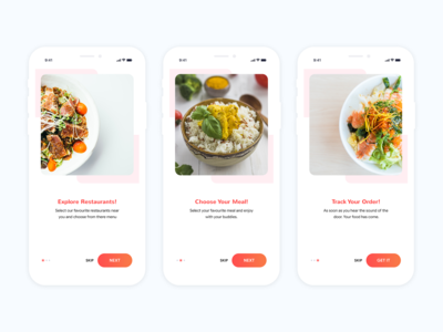 Online Food Walk-Through