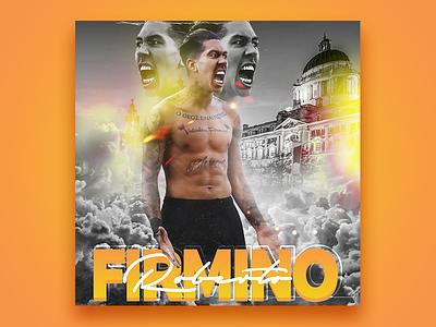 Roberto Firmino graphicdesign soccer sport football liverpoolfc liverpool robertofirmino fanart firmino poster