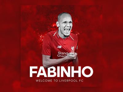 Fabinho Poster graphicdesign soccer sport football liverpoolfc liverpool fanart fabinho poster