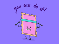 Motivational Pop Tart